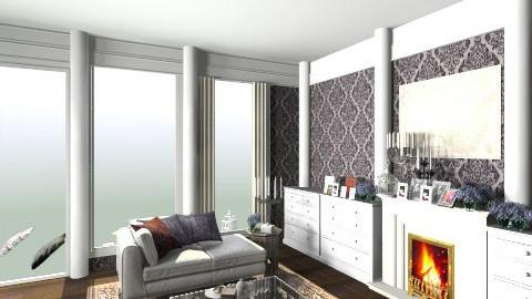 design ugntu2 - Vintage - Living room  - by Alina232323