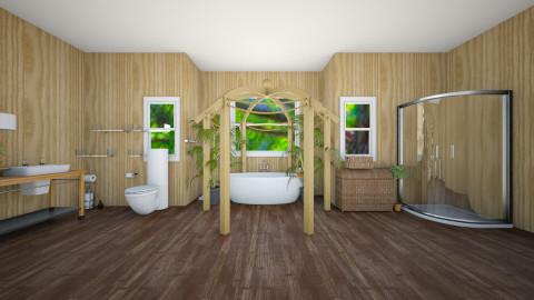 relaxing bathroom - Modern - Bathroom  - by Omggirl77