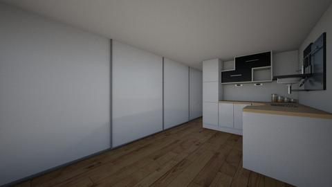 small apartment 27 m2 - Living room - by Evgeniya Sinenko