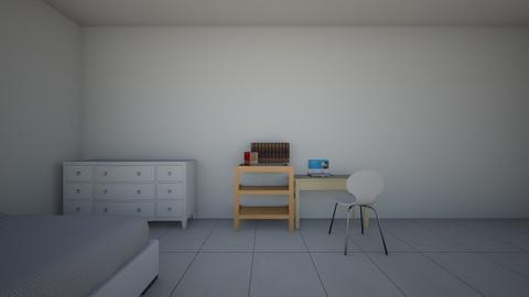 college dorm  - by iabruzzo