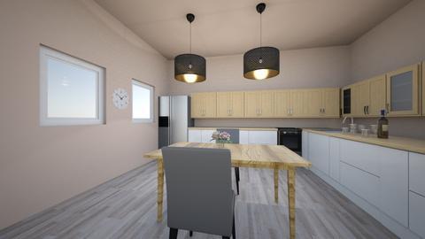Kitchen design - Kitchen - by flufftae