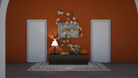 Autumn Hallway - Vintage - by LivStyles09