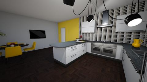 k - Kitchen - by n93eko