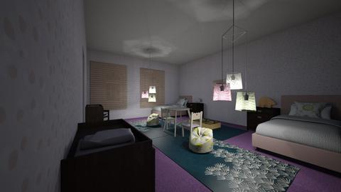 Childs room - Kids room  - by Megatron_Creates