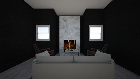 fireplace rooom - Living room  - by campbellpurp