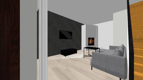 salon2 - Modern - Living room  - by ewelina088