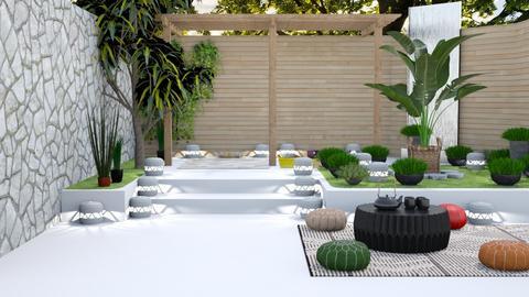 Zen Garden - Garden  - by Feeny