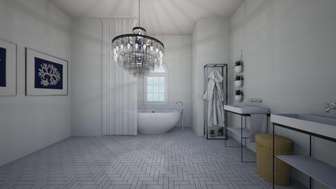 1st ever 1 - Modern - Bathroom  - by C O Z Z A B