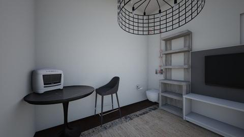 Tiny Hous - Bedroom - by kamiki1011