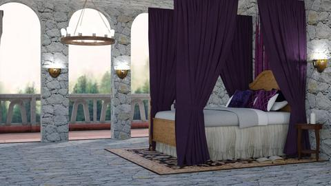 Fairy Tale - Vintage - Bedroom  - by NEVERQUITDESIGNIT