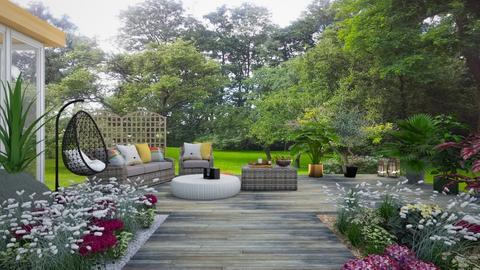 523 - Modern - Garden  - by Claudia Correia