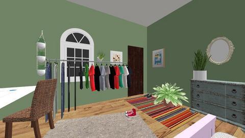 Elizabeth Baio - Vintage - Bedroom  - by koppesmath