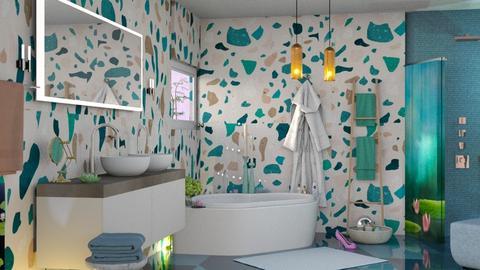 M_ Lily Pond - Feminine - Kids room  - by meli235