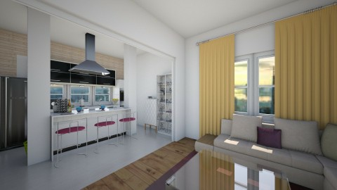 bzvz - Kitchen  - by emiragiba