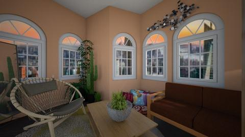Running in Squares - Living room  - by kara_is_designing