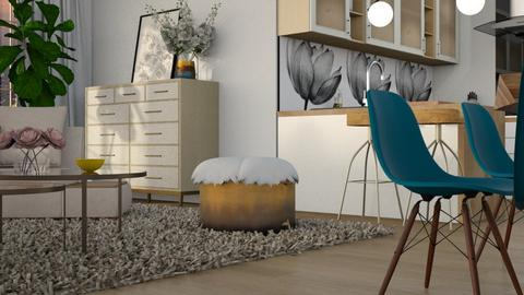 M inspired - Living room  - by snjeskasmjeska