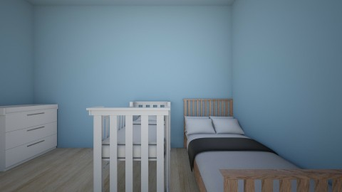 room baby mom1 - Kids room  - by Aleksandra Dziuba