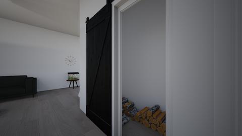 Wood room_fireplace  - by saratevdoska