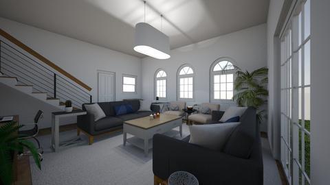 cute living room - Living room - by ashley_rose04