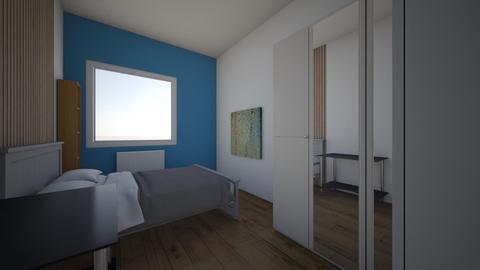 Iwaszkiewicza_Olawa_Syp2 - Bedroom  - by mbanikzakupy