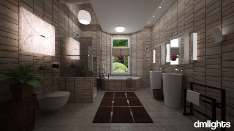 BL enSuite - Glamour - Bathroom  - by LucretiaC
