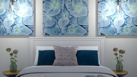 White bedroom - by Cristina Mazilu