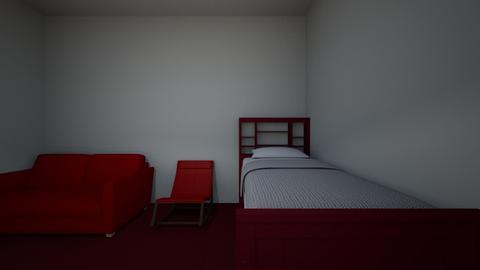 violets room - Bedroom  - by skateordiejnu