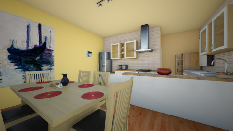 ua1 - Classic - Kitchen  - by andrfodo