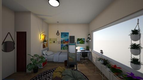studio - Bedroom  - by manushri