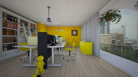 Yellow Working Space - Office  - by Tupiniquim