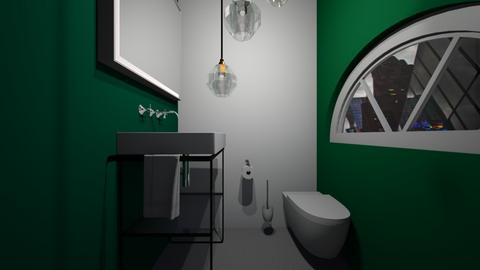 Jungle Theme Ensuite - Bedroom  - by rona123