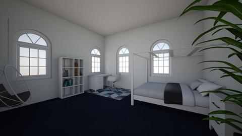 tessa glam bedroom - Glamour - Bedroom  - by doggylover6452