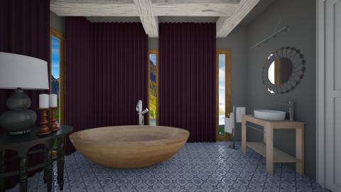 The Dark Bath Room - Modern - Bathroom  - by 3rdfloor