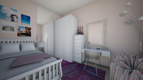 my - Bedroom  - by emiragiba