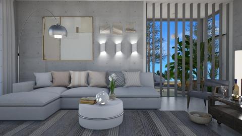 M_ Bogi - Modern - Living room  - by milyca8