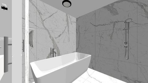 Mr  Mrs Holt Shower Tub - Modern - Bathroom  - by DHRGW