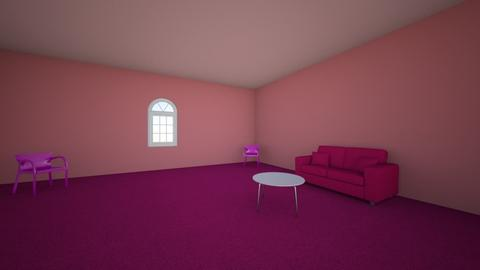 pink room - Living room  - by maceybudde1