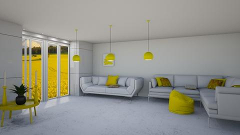 Yellow Room - Living room  - by logz mcw