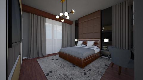 Bedroom - by claudia secareanu