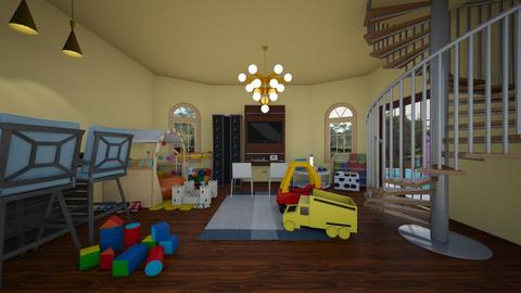 Kids Play or Fam Room - Rustic - by TheOfficialSarahEdwards