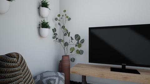 x - Living room  - by zararrr