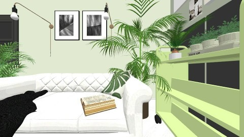 green pea - Living room - by martryna