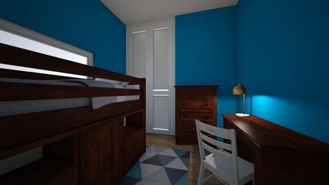 Son Bedroom 2 - Kids room  - by henrynader
