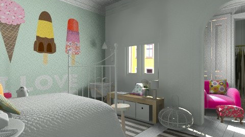 Screaming for this room - Classic - Bedroom  - by Maria Esteves de Oliveira