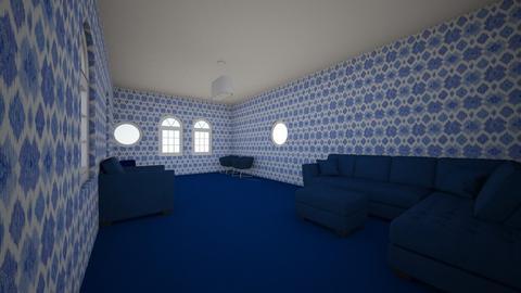 Blue Room - Living room  - by doMincK07