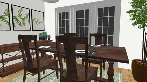 Challenge 1 - Country - Dining room  - by kissi003