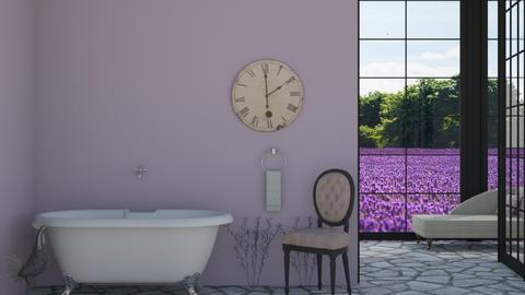 Luscious Lavender  - Bathroom  - by helsewhi