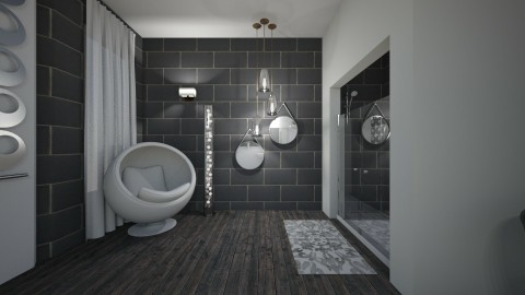 Natural Neutral - Modern - Bathroom - by XiraFizade