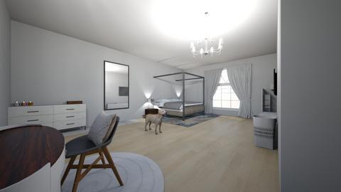 room - Modern - Bedroom  - by lillyggg