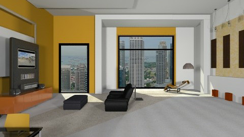 Minimal living room - Minimal - Living room  - by shelleycanuck